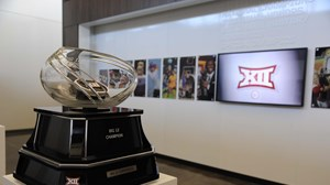Big 12 Trophy in Office
